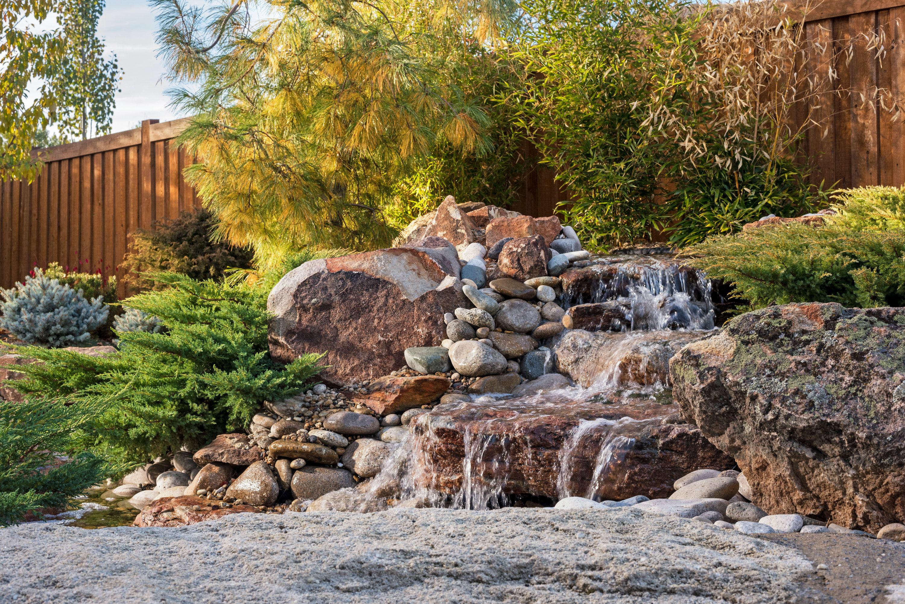 Feng Shui Waterfall | The Garden Artist Boise, ID