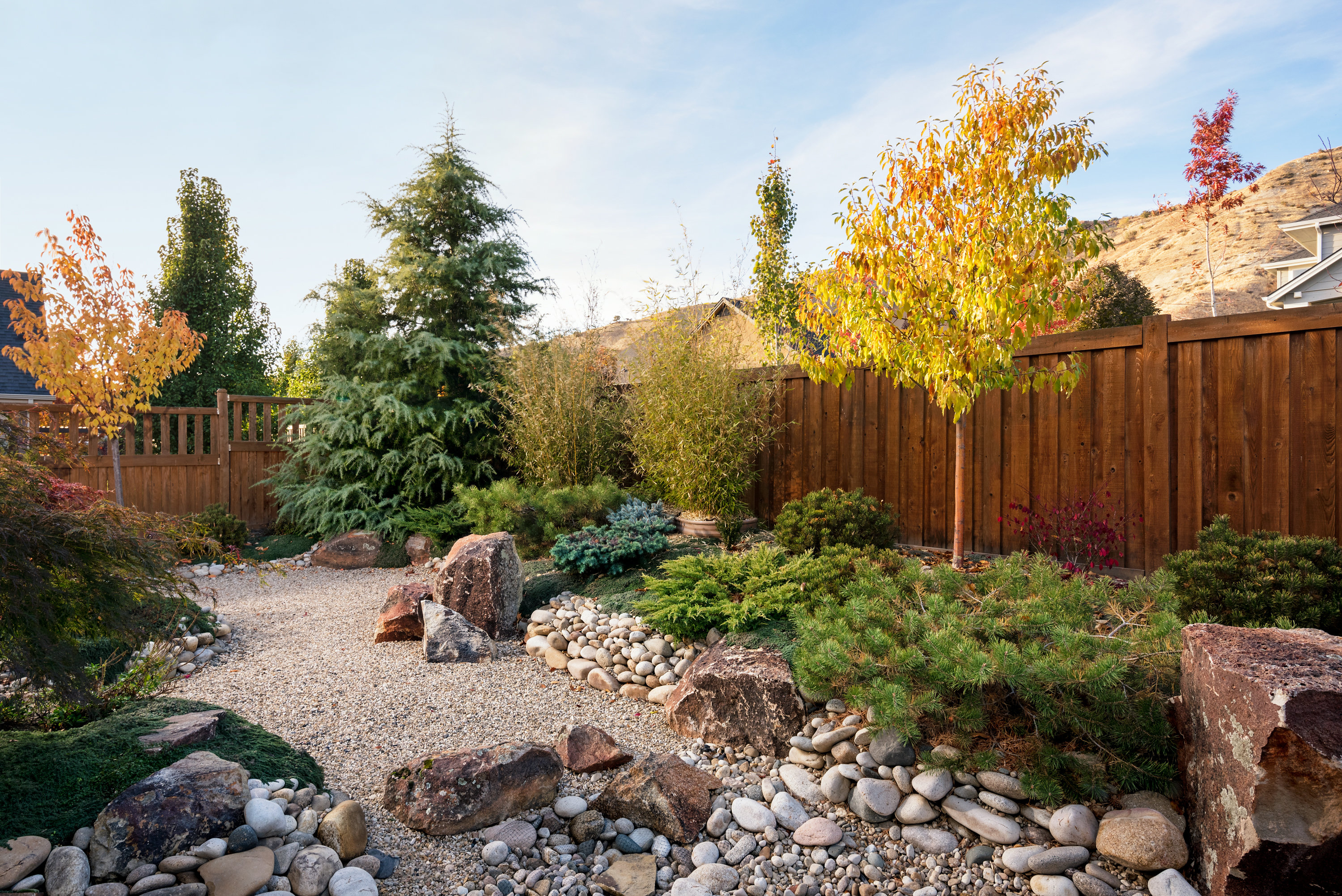 Backyard Zen Garden | The Garden Artist Boise, ID