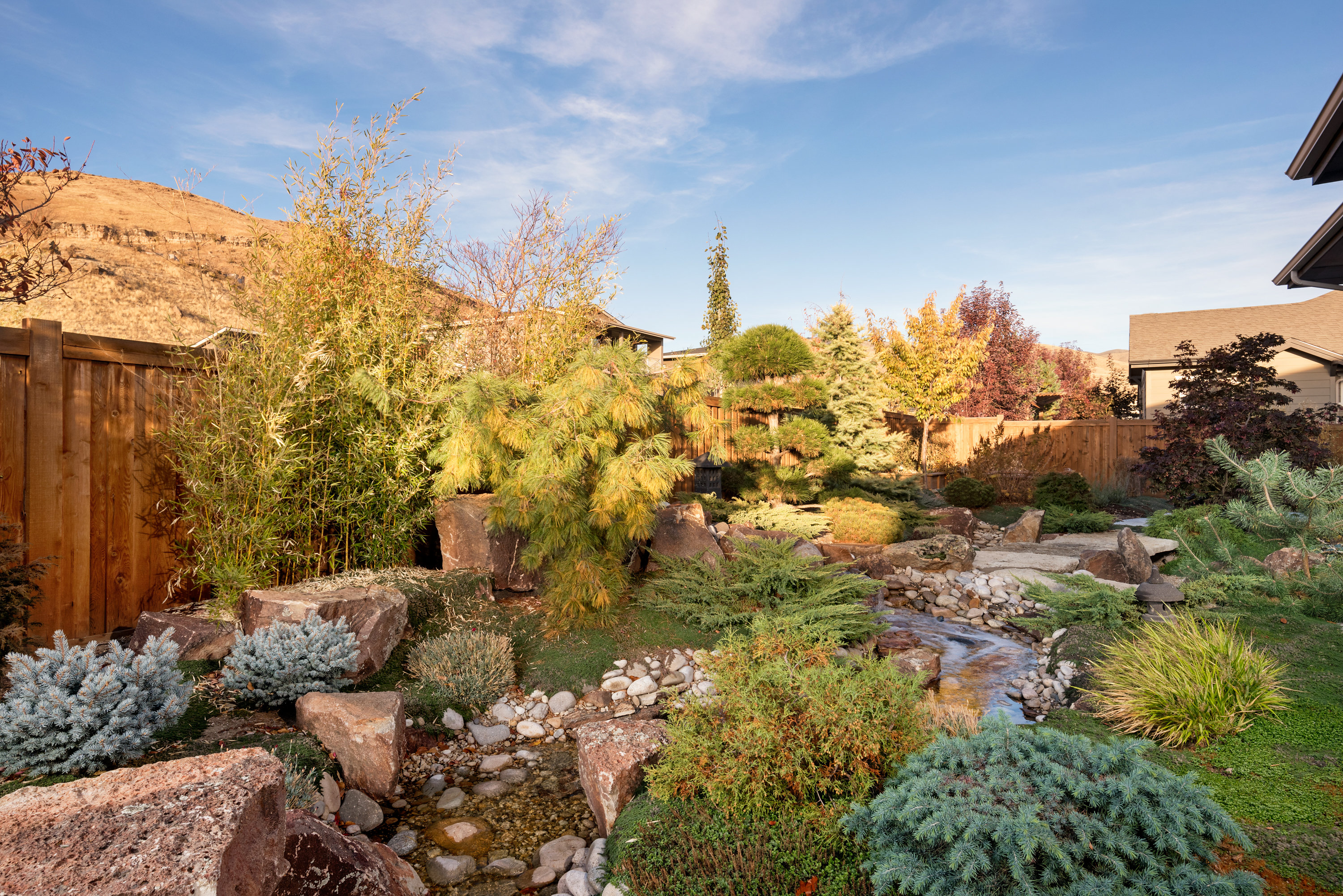 Custom Feng Shui Asian Garden in Boise