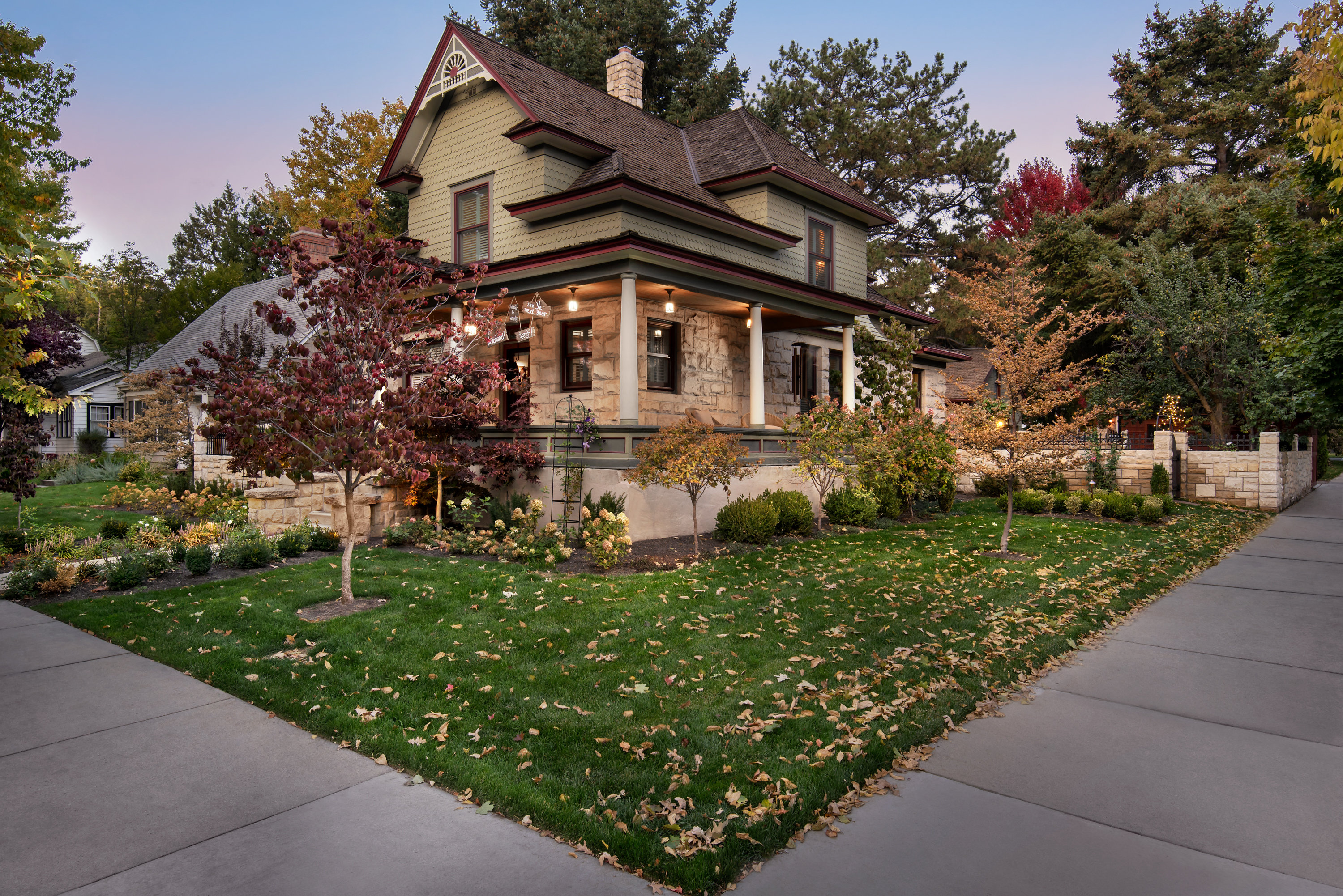 Historic Home and Custom Landscape | The Garden Artist Boise, ID