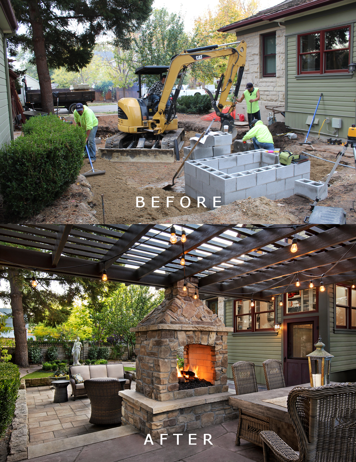 Harrison Residence: Before/After | The Garden Artist Boise, ID