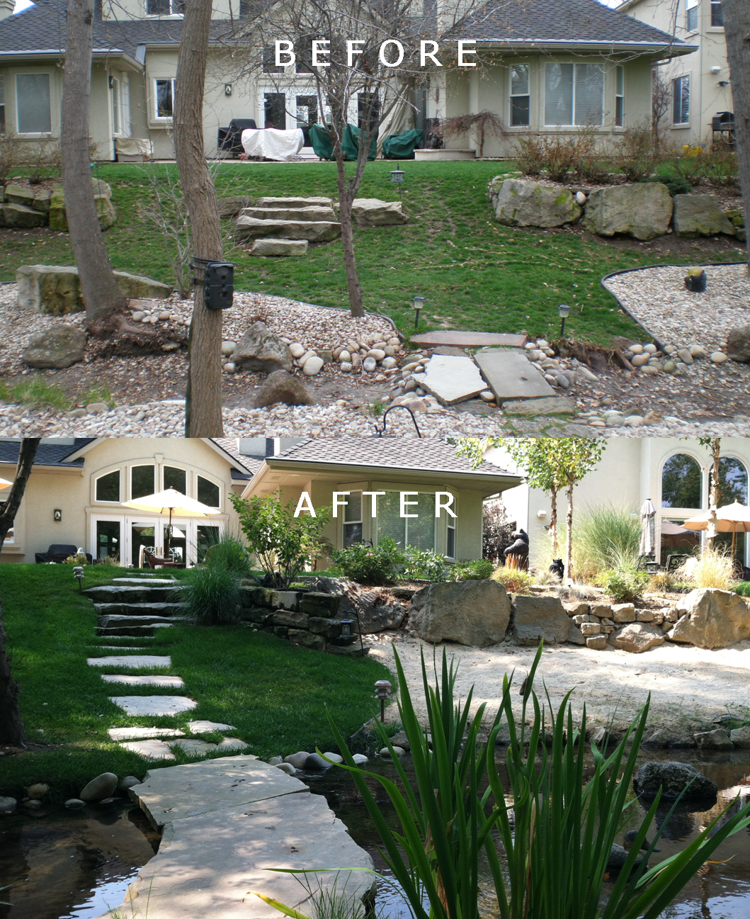 Hill Residence: Before/After | The Garden Artist Boise, ID