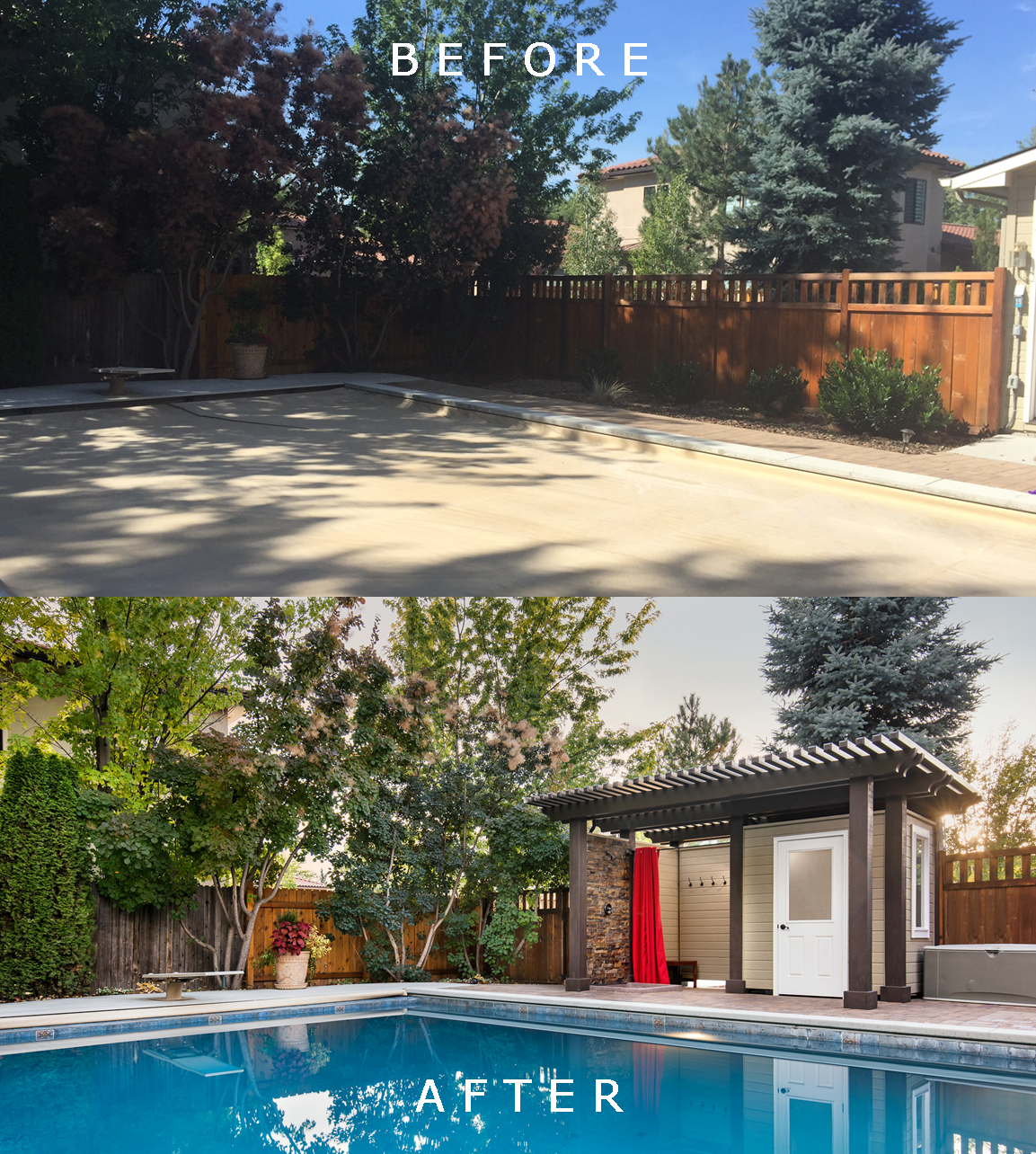 Holden Residence: Before/After 2  | The Garden Artist Boise, ID