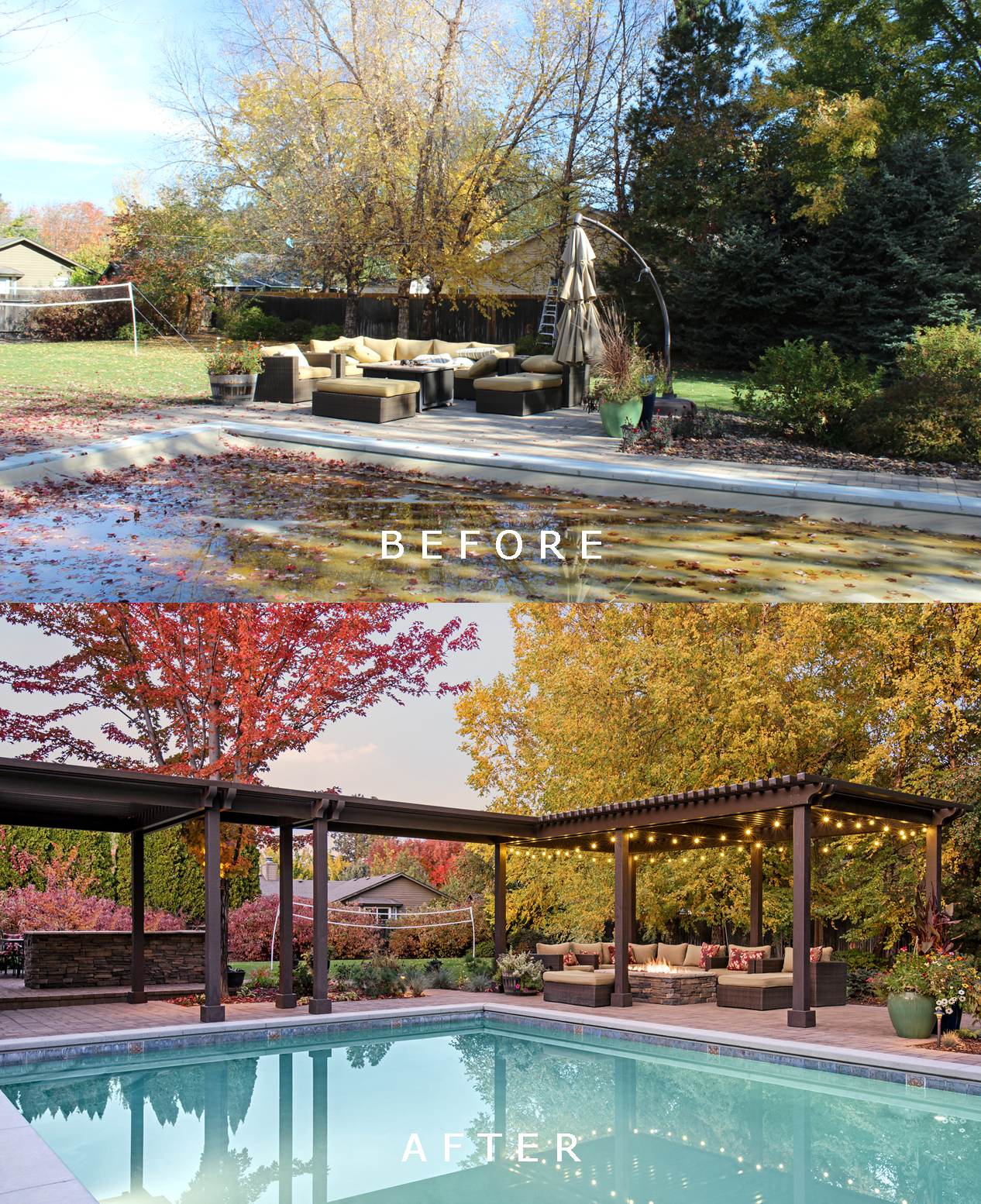 Holden Residence: Before/After 1  | The Garden Artist Boise, ID