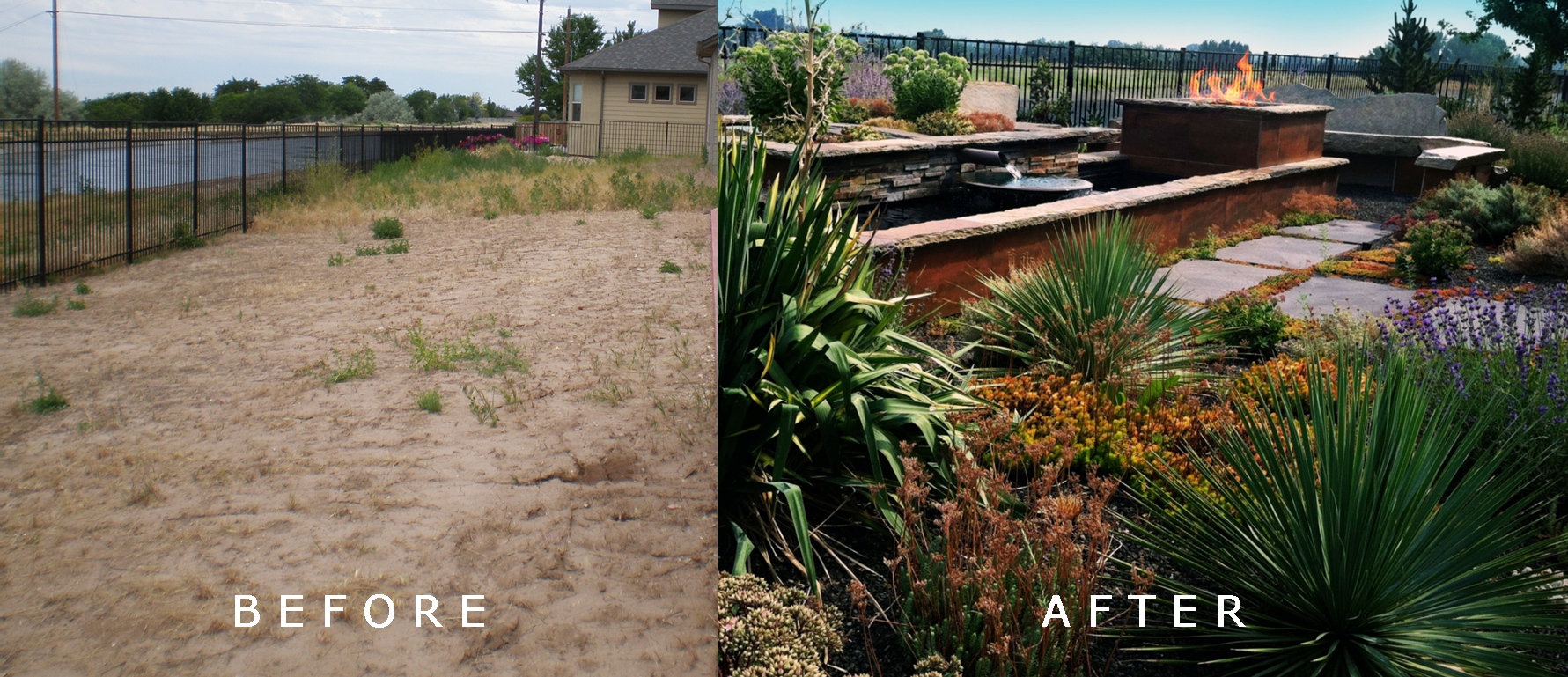 Taylor Residence: Before/After | The Garden Artist Boise, ID
